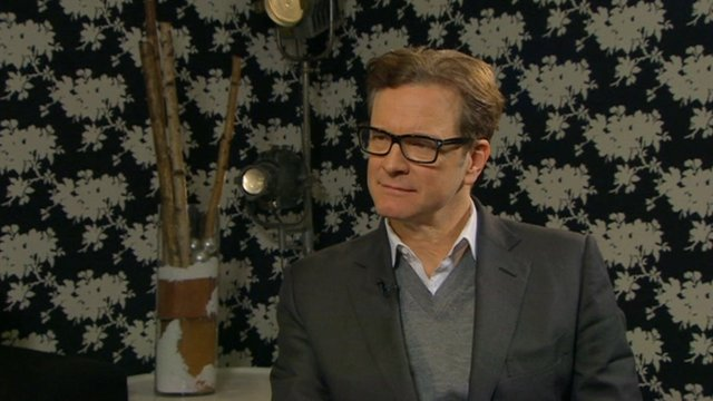 Colin Firth on Railway Man role - BBC News