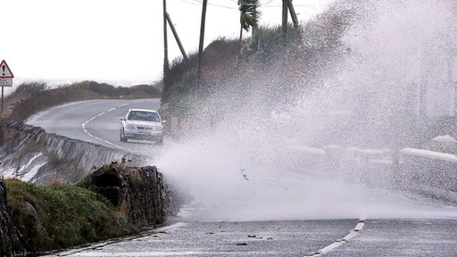 Severe winds are expected to batter parts of Northern Ireland overnight