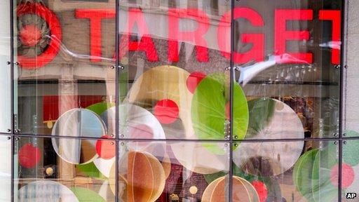 Target shop window