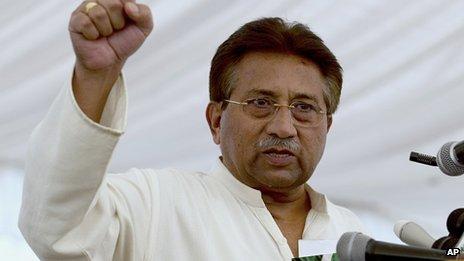 Pervez Musharraf (file image)