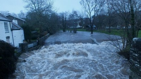 River Walkham 23 Dec, at Horrabridge