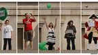 Five of the 2,400 Fourth Plinth performers in Antony Gormley's One and Other project