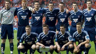 Ross County Scottish Cup final 2010