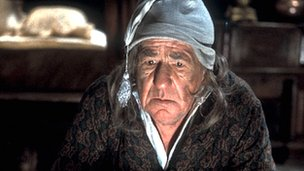 Michael Horden as Ebeneezer Scrooge