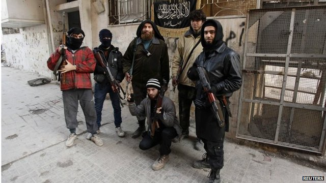 Members of al-Nusra (file photo)