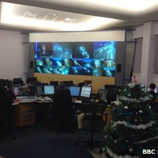 Highways Agency National Traffic Control Centre