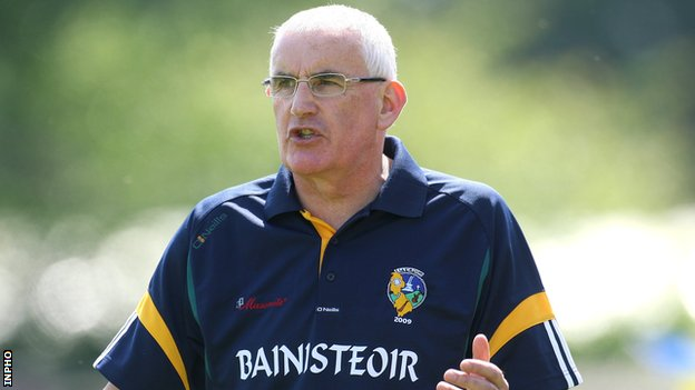 Mickey Moran had a spell as manager of Leitrim