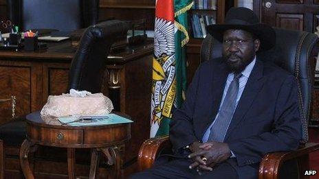 Salva Kiir, 23 Dec, Juba