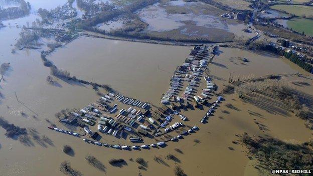 River Medway floods