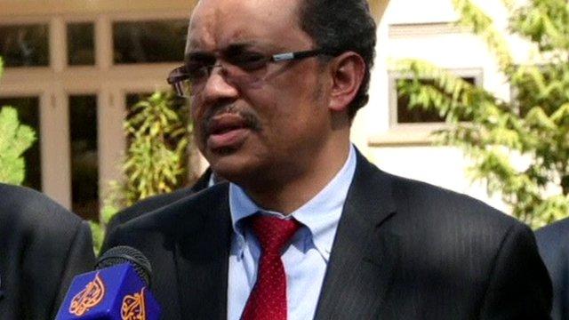 Ethiopian Foreign Minister Tedros Adhanom