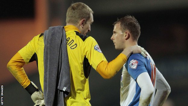 Chris Kirkland and Jordan Rhodes