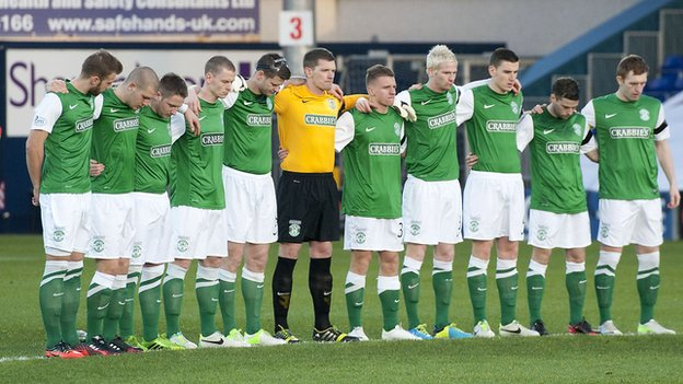 Hibs were 2-0 winners at Ross County