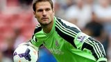 Stoke City goalkeeper Asmir Begovic out for up to six weeks with a broken finger