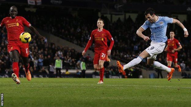 BBC Sport - Manchester City 2-1 Liverpool