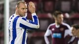 Kris Boyd scored twice in the win at Tynecastle