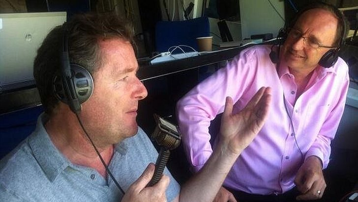 Piers Morgan talks to Jonathan Agnew