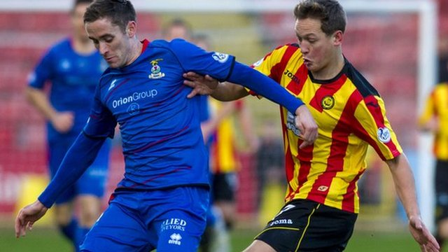 Highlights - Partick Thistle 0-0 Inverness CT