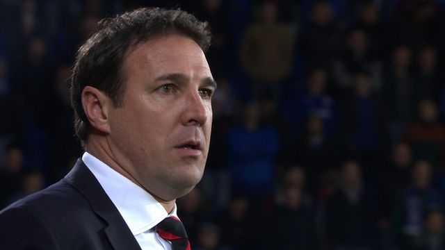 Former Cardiff manager Malky Mackay