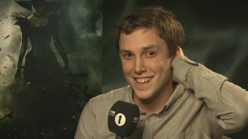 Chris Stark interviewing Mila Kunis