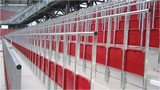 Example of safe-standing area