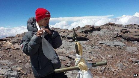 Tyler Armstrong, Aconcagua