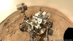 Curiosity rover, self-portrait