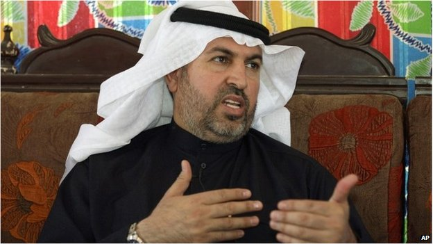 Ahmed al-Alwani in February 2013