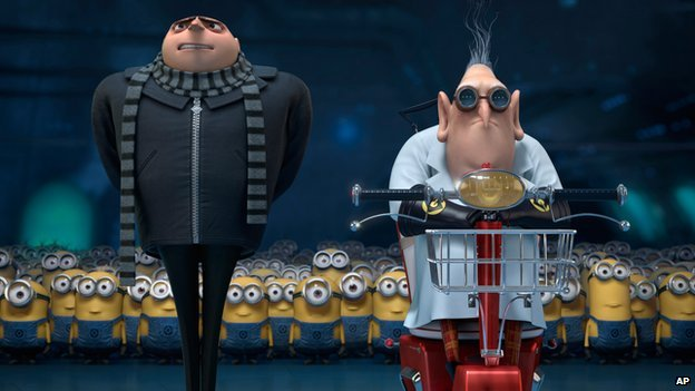 Scene from Despicable Me 2
