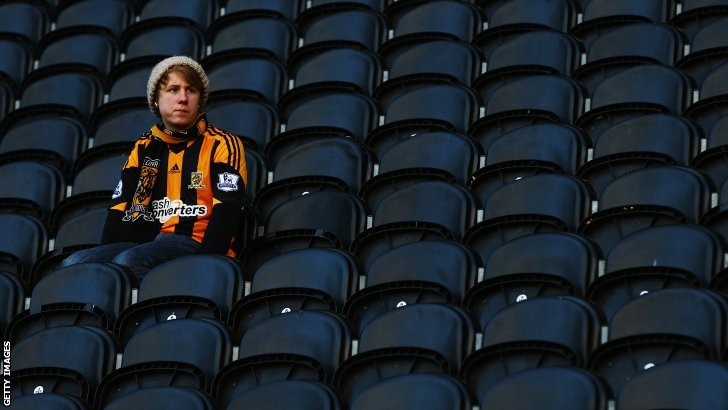 A Hull City fan