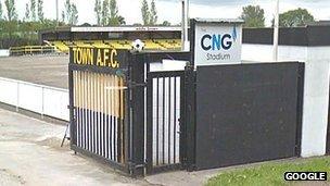 Harrogate Town entrance