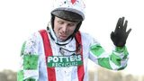 Jockey Paul Moloney rode Mountainous to victory in the Welsh National