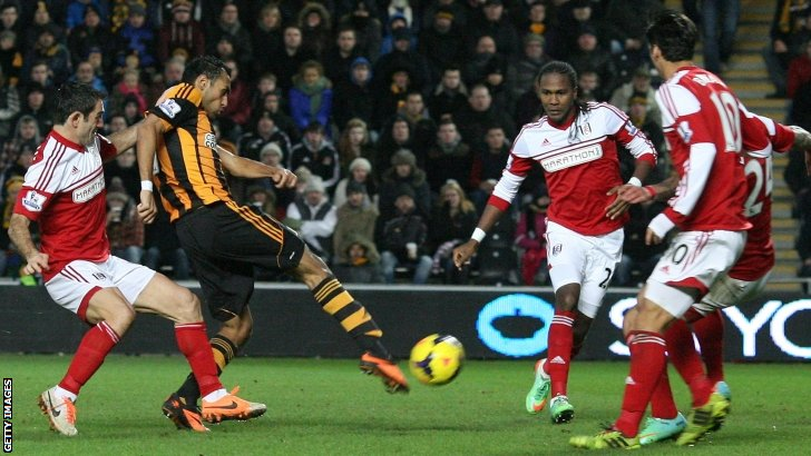 Ahmed Elmohamady scores for Hull