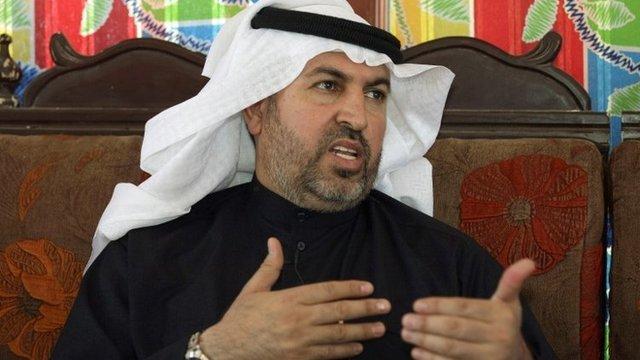 Ahmed al-Alwani in February 2013