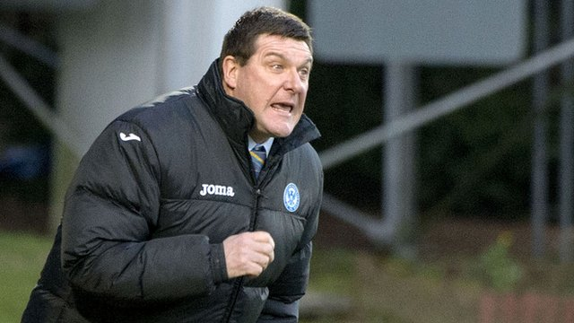 Interview - St Johnstone manager Tommy Wright