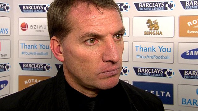 Brendan Rodgers discusses Liverpool's 2-1 defeat at Chelsea