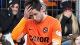Calum Butcher was sent off at McDiarmid Park