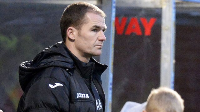 Interview - Partick Thistle manager Alan Archibald