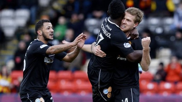 Highlights - Partick Thistle 1-5 Motherwell