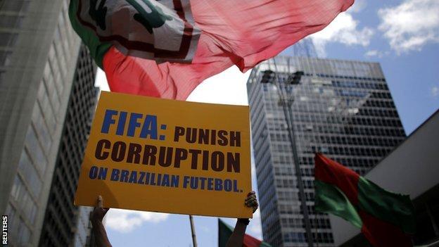 Portuguesa protestors