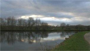 Water Haigh Woodland Park, near Leeds