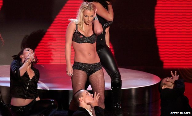 Britney Spears at the 2007 MTV Awards