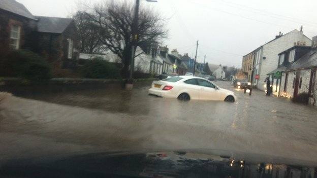 Flooding in Carsphairn