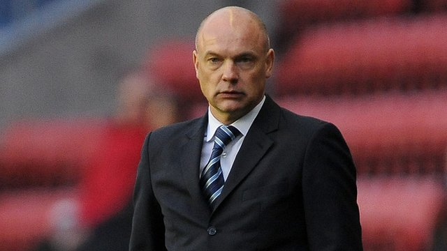 Wigan manager Uwe Rosler