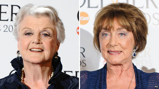 Angela Lansbury and Gillian Flynn