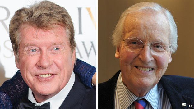 Michael Crawford and Nicholas Parsons