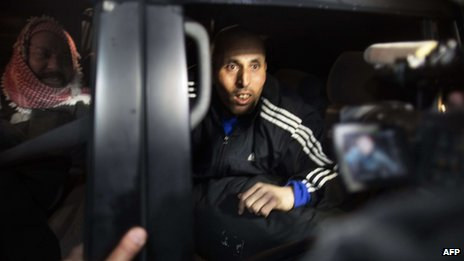 Released Palestinian prisoner Jamal Abu Jamal arrives in Jerusalem. 31 Dec 2013