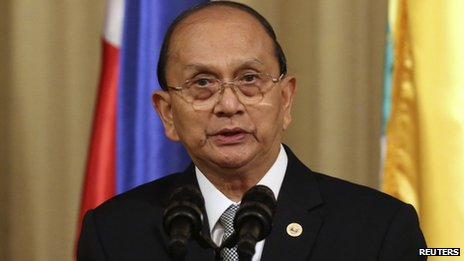 File photo: Thein Sein