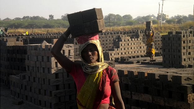 India brick kiln workers