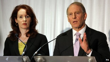 Meghan O'Sullivan and Richard Haass