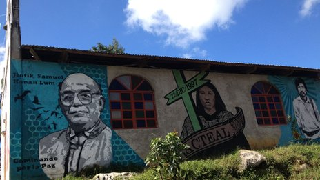 Mural in Acteal